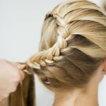 How to make a differnet hairstyles in steps, second step