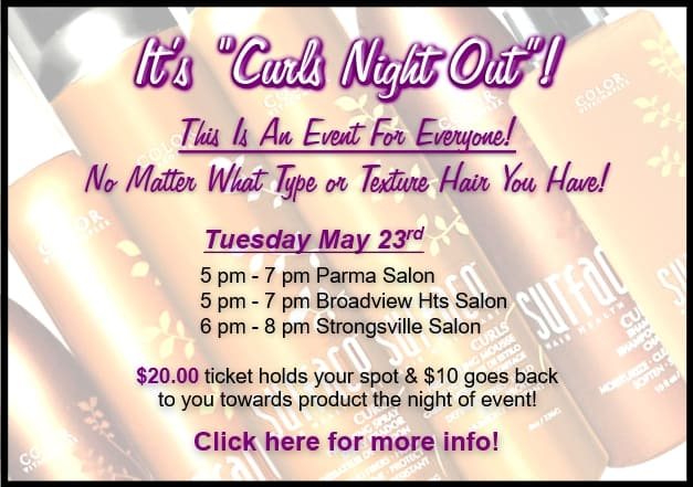 It's Curls Night Out!