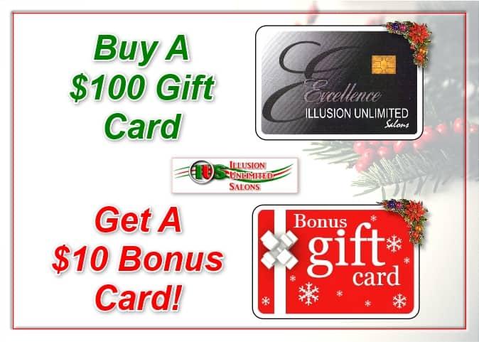 Bonus Gift Card